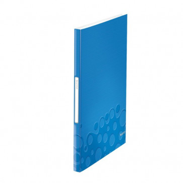 Portalistini In Pp Wow Leitz Blu Metallizzato 40 46320036