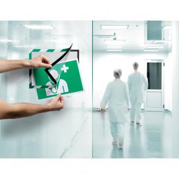 conf. 2 Cornice autoadesiva verde/bianco Durable 4944-131