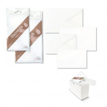 Biglietti E Buste Bianche Ellebi Sadoch Dalmazia 7,5X11 Cm Bianco 8034 (Conf10)