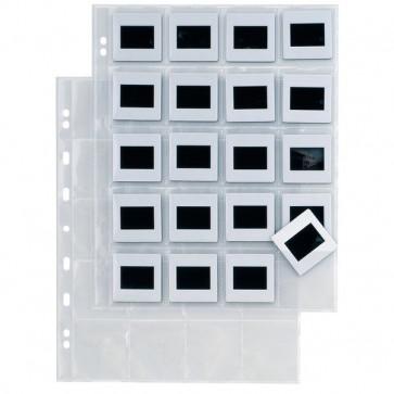 Buste Porta Diapositive Sei Rota 20 Spazi (5,5X5,5 Cm) 662514 (Conf.10)