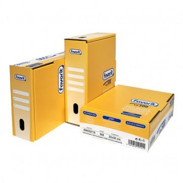 Buste A Foratura Buccia D'Arancia Favorit Linear (Medio Spessore) 22X30 Cm 400052718 (Conf.500)