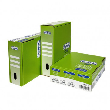 Buste A Foratura Universale Lisce Favorit Linear (Medio Spessore) 22X30 Cm 400052719 (Conf.500)