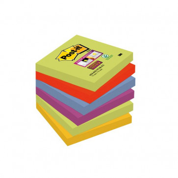 Foglietti Post-It® Super Sticky Marrakesh 76X76 Mm 654-6Ss Mar-Eu (Conf.6)