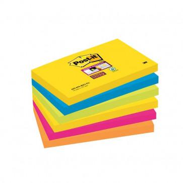 Foglietti Post-It® Super Sticky Rio De Janeiro 76X127 Mm 655-6Ss Rio-Eu (Conf.6)
