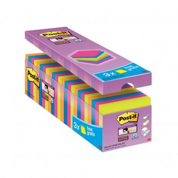Foglietti Post-It® Super Sticky Value Pack Colore 76X76 Mm 32516 (Conf.24)