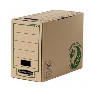 Contenitore Archivio Legal Dorso 15 Cm Sistema Di Archiviazione Bankers Box Earth Series Fellowes Aletta Di Chiusura 4471901 (Conf.20)