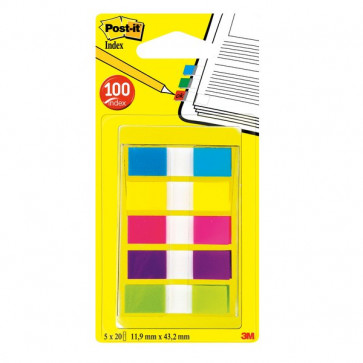 Segnapagina Post-It® Index Pocket Mini Dispenser Index Segnapagina 683-5Cbeu (Conf.5)