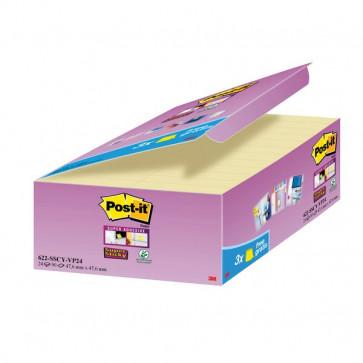 Foglietti Post-It® Super Sticky Value Pack 58X31 Mm Giallo Canary™ 622-Sscy-Vp24-Eu (Conf.24)