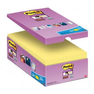 Foglietti Post-It® Super Sticky Value Pack 76X127 Mm Giallo Canary™ 655-Sscy-Vp16-Eu (Conf.16)