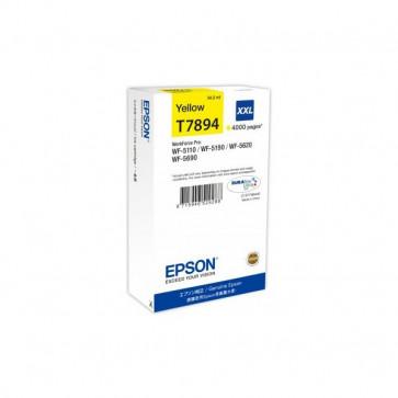Originale Epson C13T789440 Cartuccia inkjet alta capacità T7894 giallo