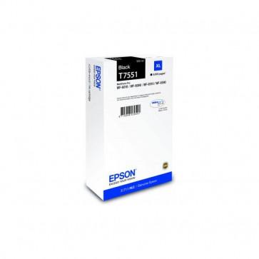 Originale Epson C13T755140 Cartuccia inkjet altissima resa T7551XL nero