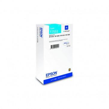 Originale Epson C13T755240 Cartuccia inkjet altissima resa T7552XL ciano