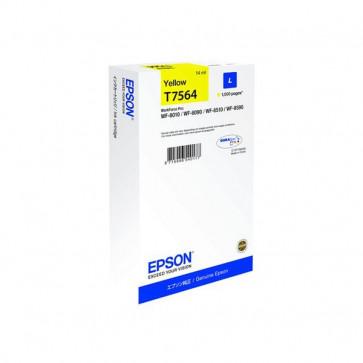 Originale Epson C13T756440 Cartuccia inkjet alta resa T7564L giallo