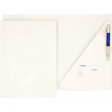 Cartellina ad incastro per presentazioni 4company bianco 3745 (conf.10)