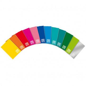 Quaderni One Color Blasetti A5 B (righe) 40+R ff 1404 (conf.10)