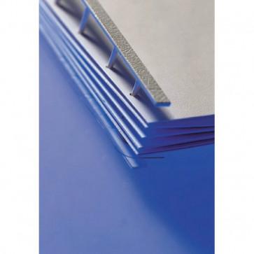 Pettini per rilegatura a pettine Velobind GBC blu 2-200 fogli 9741636 (conf.25)