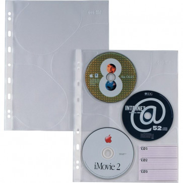 Buste trasparenti Atla CD 3 Sei Rota 662509 (conf.10)