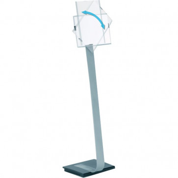 Espositore da pavimento Info Sign Stand Durable A4 111-118 cm 4812-23
