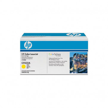 Originale HP CF032A Toner giallo