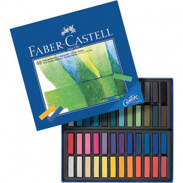 Creta Soft Pastel Creative Studio Faber Castell assortiti 128248 (conf.48)