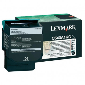 Originale Lexmark C540A1KG Toner return program nero