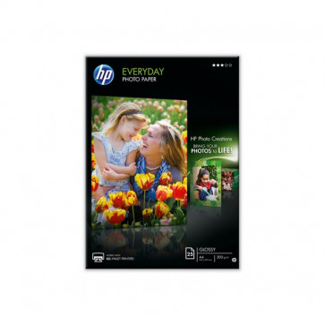 Carta fotografica HP Everyday semi-lucida A4 200 g/mq Q5451A (conf.25)