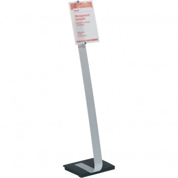 Espositore da pavimento Crystal Sign Stand Durable A4 109 cm 4818-23