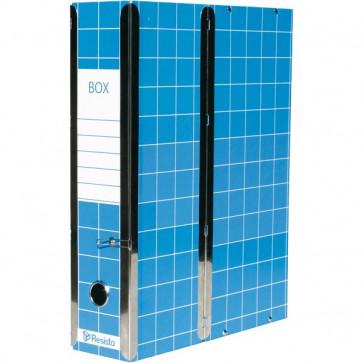 Scatola con cerniera Box 1 Resisto 28x35x8,5 cm 9 cm blu RESX101.BL
