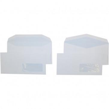 Buste comm. Pigna taglio a trapezio- con finestra strip 11x23 cm 80 g/mq 0097584 (conf.500)