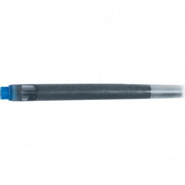 Cartucce Quink per stilografica. Parker Pen blu permanente S0116240 (conf.5)