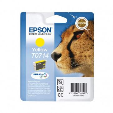 Originale Epson C13T07144011 Cartuccia inkjet ink pigmentato blister RS DURABRITE ULTRA giallo