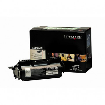 Originale Lexmark 64416XE Toner altissima resa return program nero