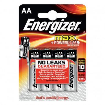 Pile Energizer Alkaline Max - AA - Stilo - E300112500 (conf.4)
