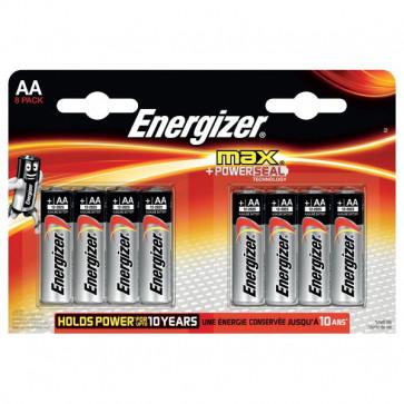 Energizer Alkaline Max AA x 8 Energizer - AA - stilo - E300112400 (conf.8)