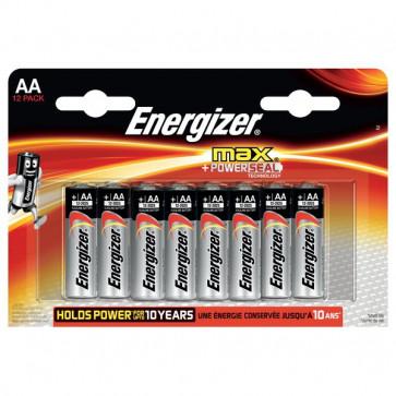 Energizer Alkaline Max AA x 12 Energizer - AA - stilo - E300103700 (conf.12)