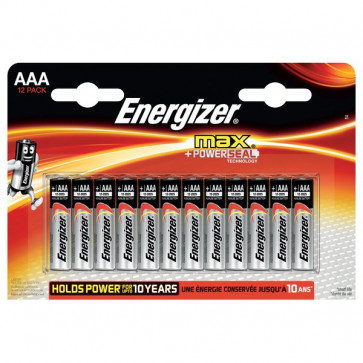 Energizer Max+ Power Energizer - ministilo - AAA - E300103700 (conf.12)