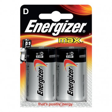 Energizer Max+ Power Energizer - torcia - D - E300129200 (conf.2)