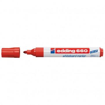 Marcatore per lavagna 660 Edding - rosso - 4-660 002
