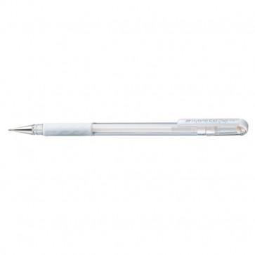 Roller gel Hybrid grip Pentel - bianco - K118-LW