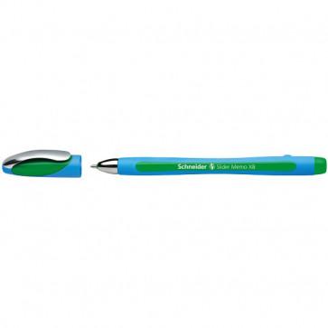 Penna a sfera Memo Schneider - verde - 0,7 mm - 150204