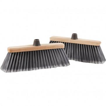 Scope per pulizia esterni La Piacentina - coccia in legno - 0020B