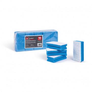 Spugne con microfibra antigraffio La Piacentina - blu - 0220C (conf.10)