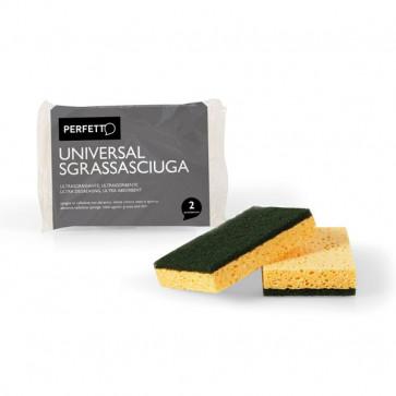 Spugna in cellulosa con abrasivo La Piacentina - 0246A (conf.2)