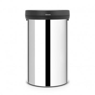Pattumiera Big Bin Brabantia - 40x40x65 - inox lucido - 60 litri - 108785