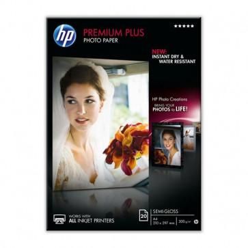 Carta fotografica Premium Hewlett Packard semi-lucida 300 g/mq CR673A (conf.20)