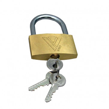 Lucchetti con chiave Viso - 20x30x7,5 mm - CAD 301 SB