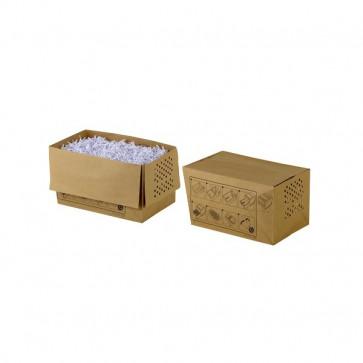 Sacchi in carta per distruggidocumenti a frammenti Auto+ 60X e 80X Rexel 1765028EU (conf20)