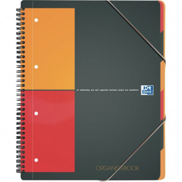 Blocco spiralato ORGANISERBOOK INTERNATIONAL Oxford A4+ 5 mm 80 H001801