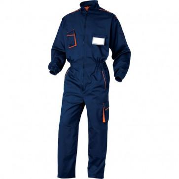 Tuta da lavoro Delta Plus - blu/arancione - XL - M6COMBMXG