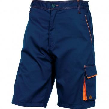 Bermuda da lavoro Delta Plus - blu/arancione - XXL - M6BERBMXX